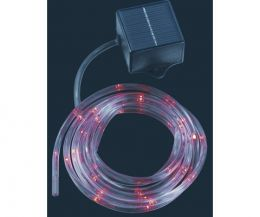 Solar Christmas Rope lights (Red)