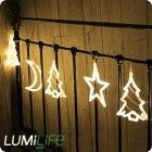 LED Christmas Rice Lights (6pcs) - Warm White