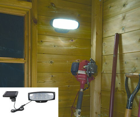 solar powered shed light lights lighting for sheds